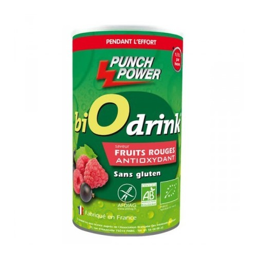 Punch Power Bio-Drink Anitoxydant Fruits Rouges