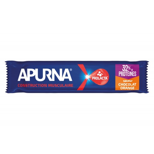 Apurna Barre Hyperprotéiné Choco/Orange