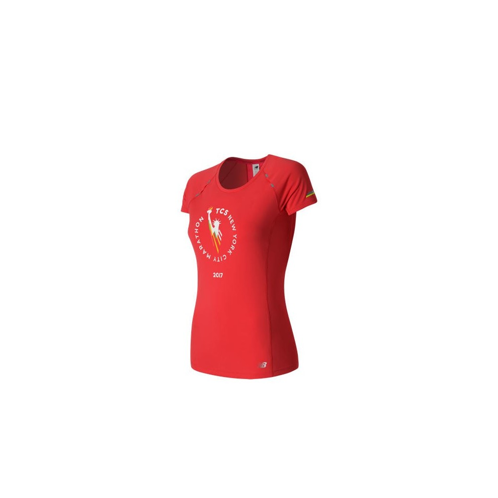 NB Tee shirt Women manche courte marathon de New York