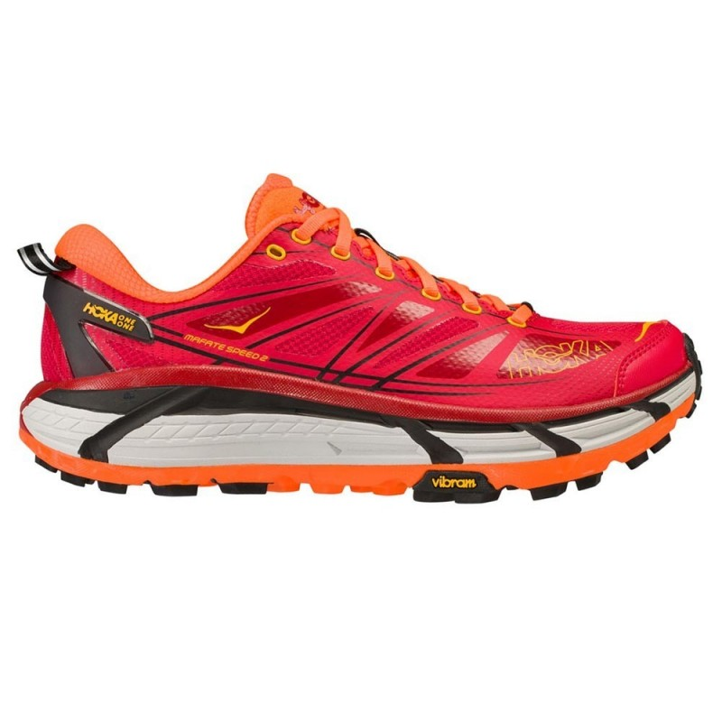 HOKA MAFATE SPEED 2 RED