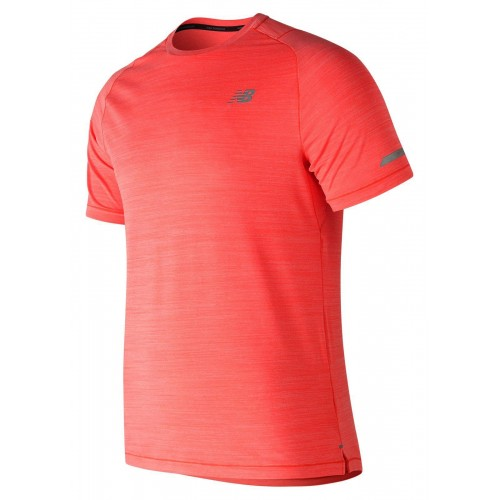 NEW BALANCE Tee Shirt Seasonless Orange