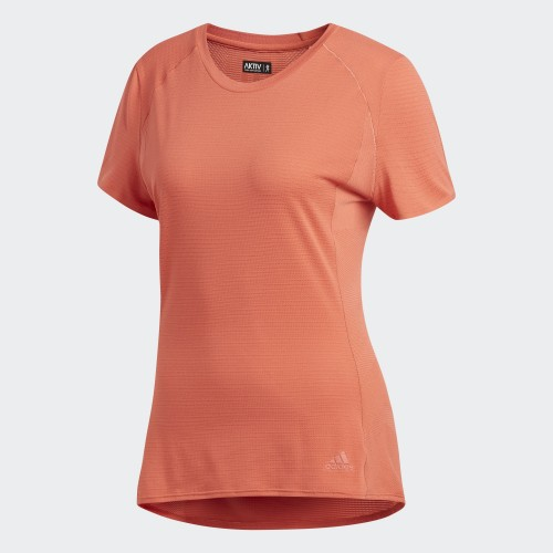 ADIDAS SN SS Tee Shirt Orange Women