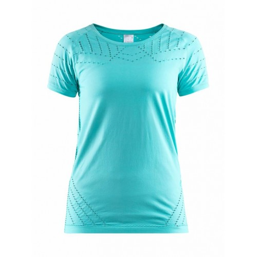 CRAFT Tee Shirt Core Women Turquoise