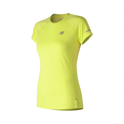 NEW BALANCE Tee Shirt SRY Women Jaune