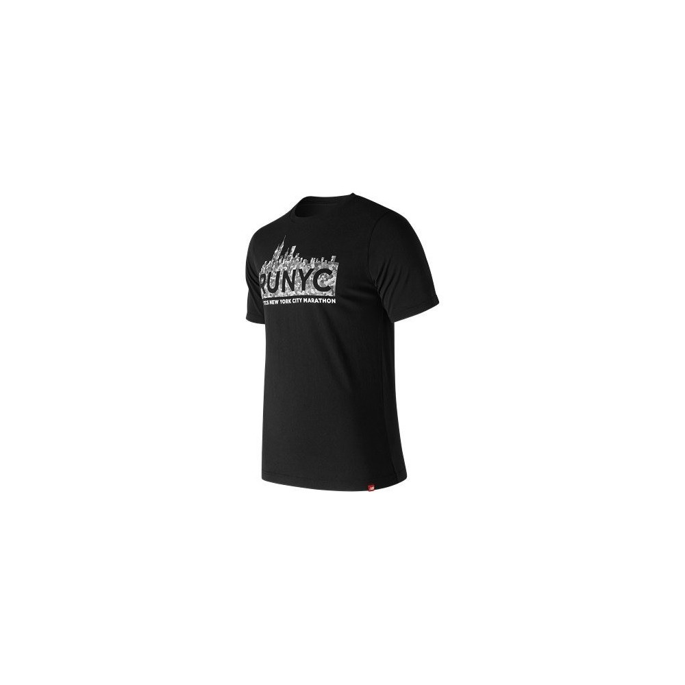 NEW BALANCE  Tee shirt Noir  Marathon New York 2018