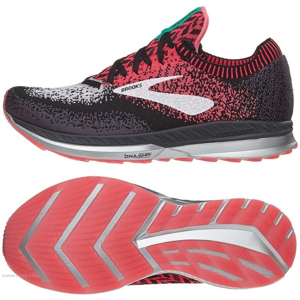BROOKS bedlam  Women Blanche/Rose/Noir