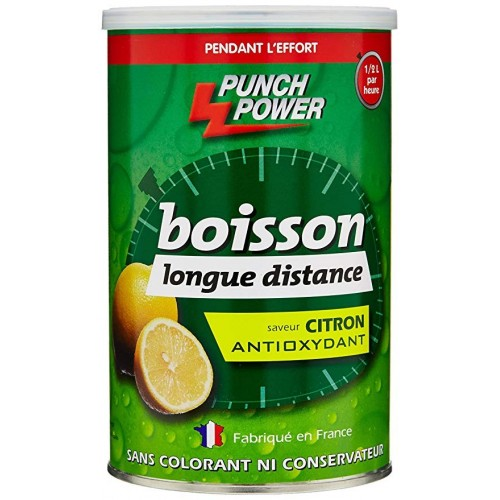 P.POWER Boisson longue distance citron