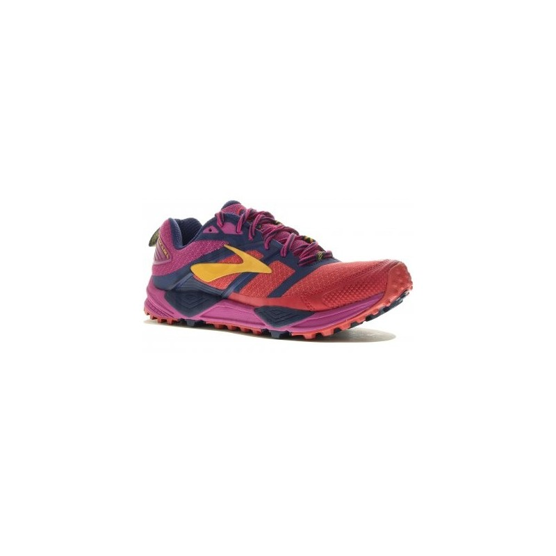 BROOKS Cascadia 12 Women Rouge Violet