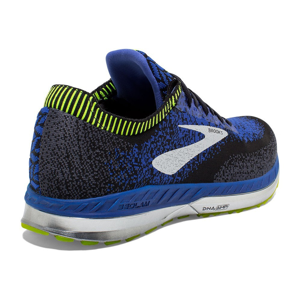 BROOKS Bedlam Noir /Bleu/ Jaune