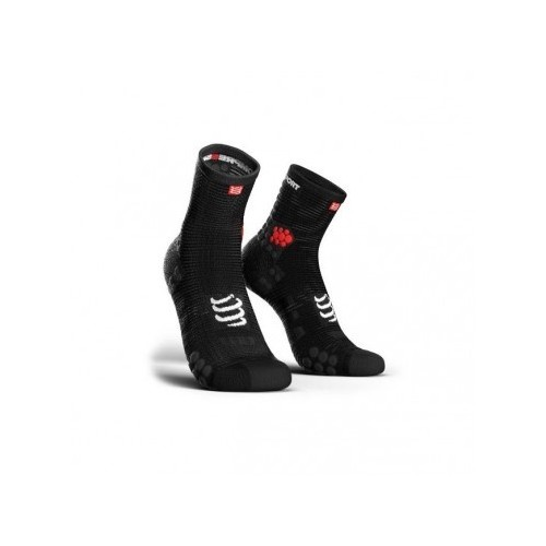 COMPRESSPORT Chaussettes Run High noir