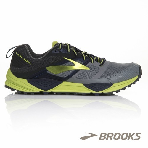 Brooks Cascadia 12 White gris