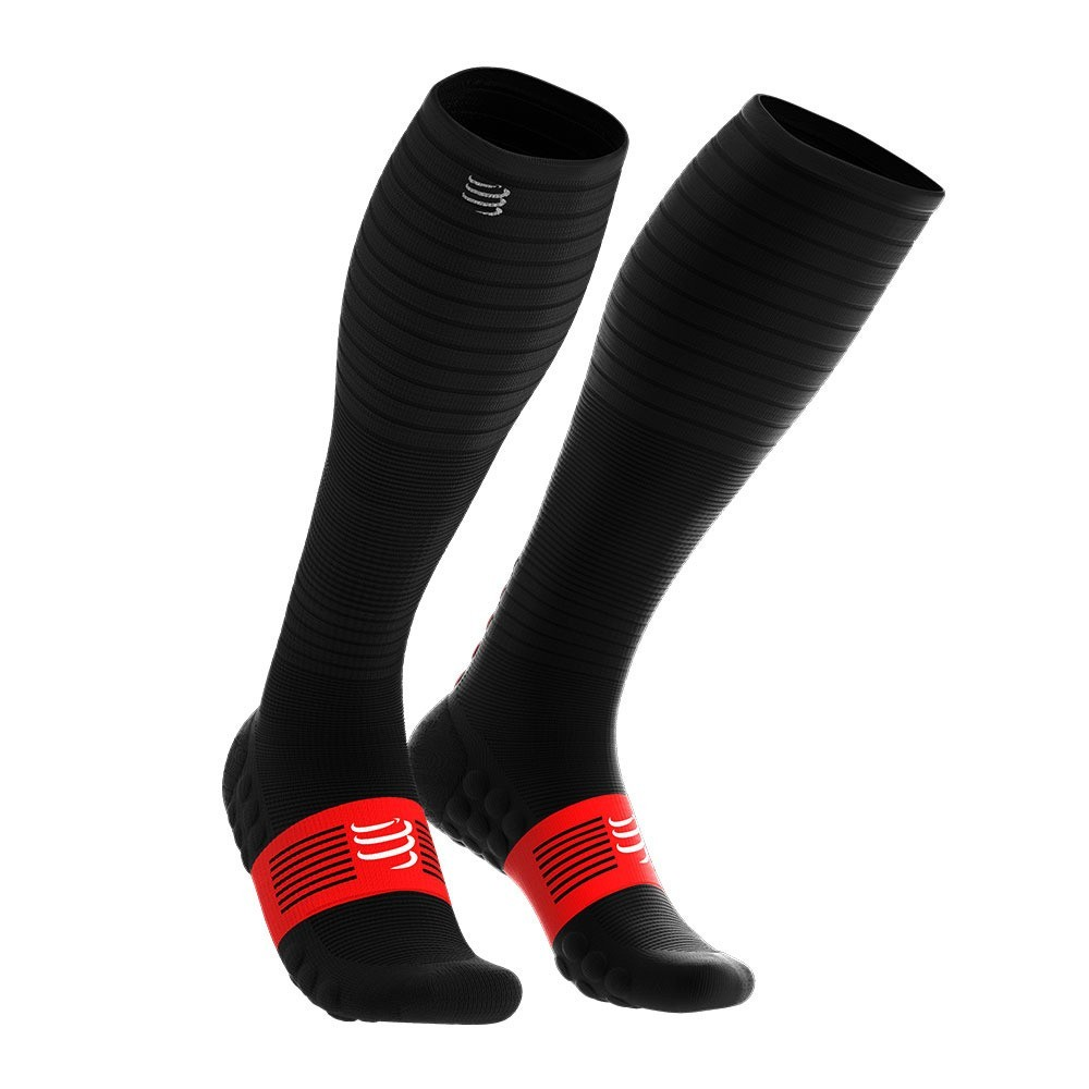 COMPRESSPORT Chaussette Full Socks Oxygen