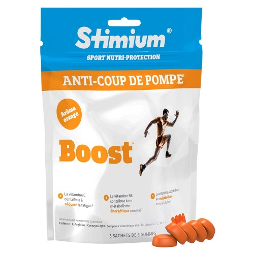 STIMIUM Anti-coup De Pompe Boost Saveur Orange