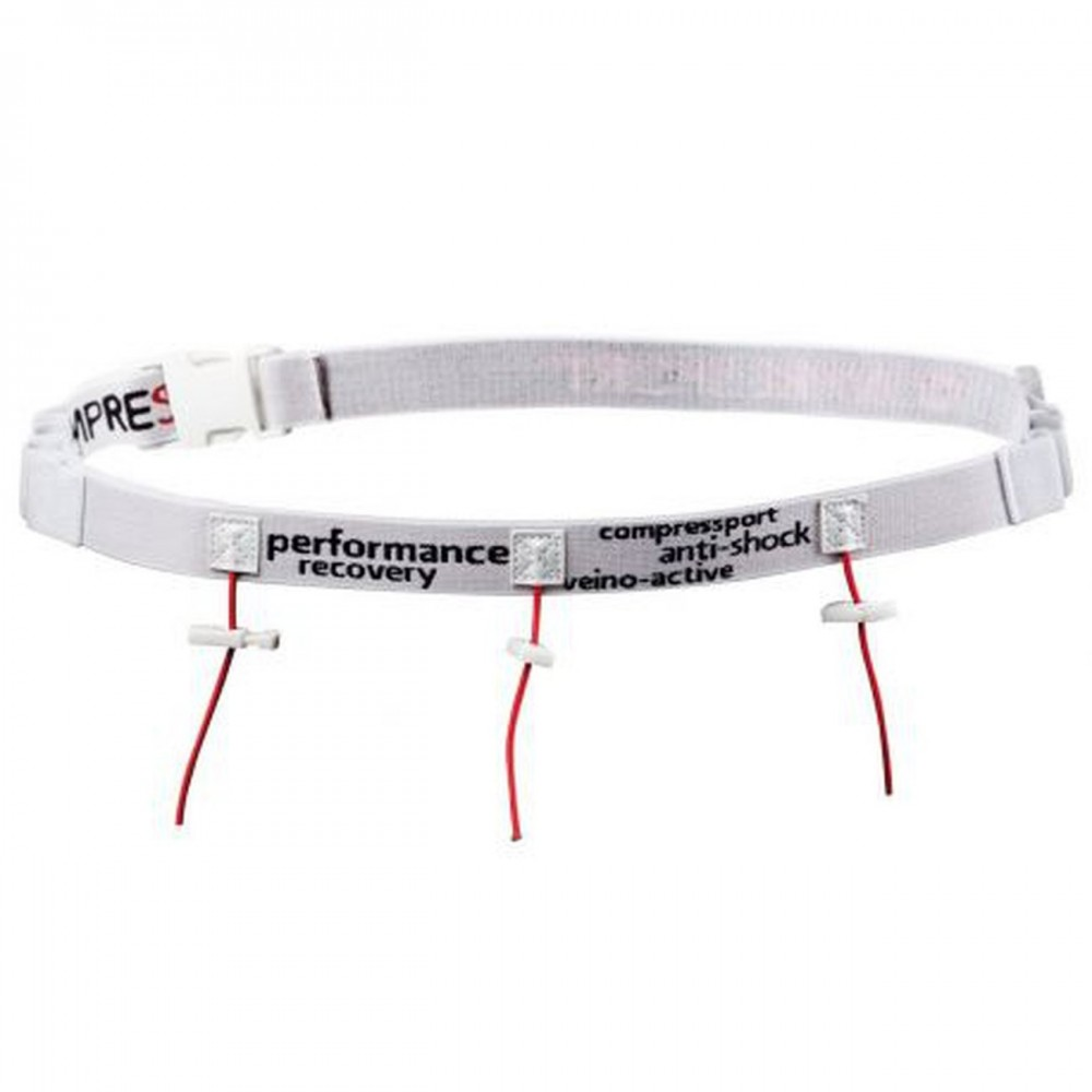 COMPRESSPORT Porte dossard Blanc