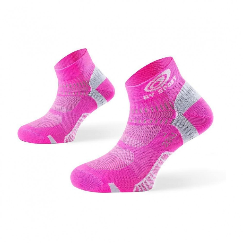 BV SPORT Chaussettes Light One Rose