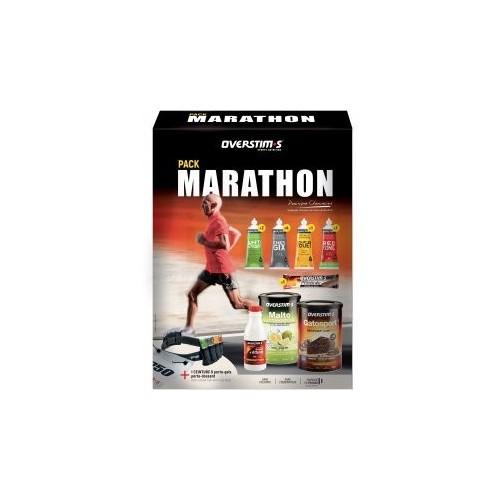 OVERSTIM'S Pack Marathon + Ceinture porte Gel