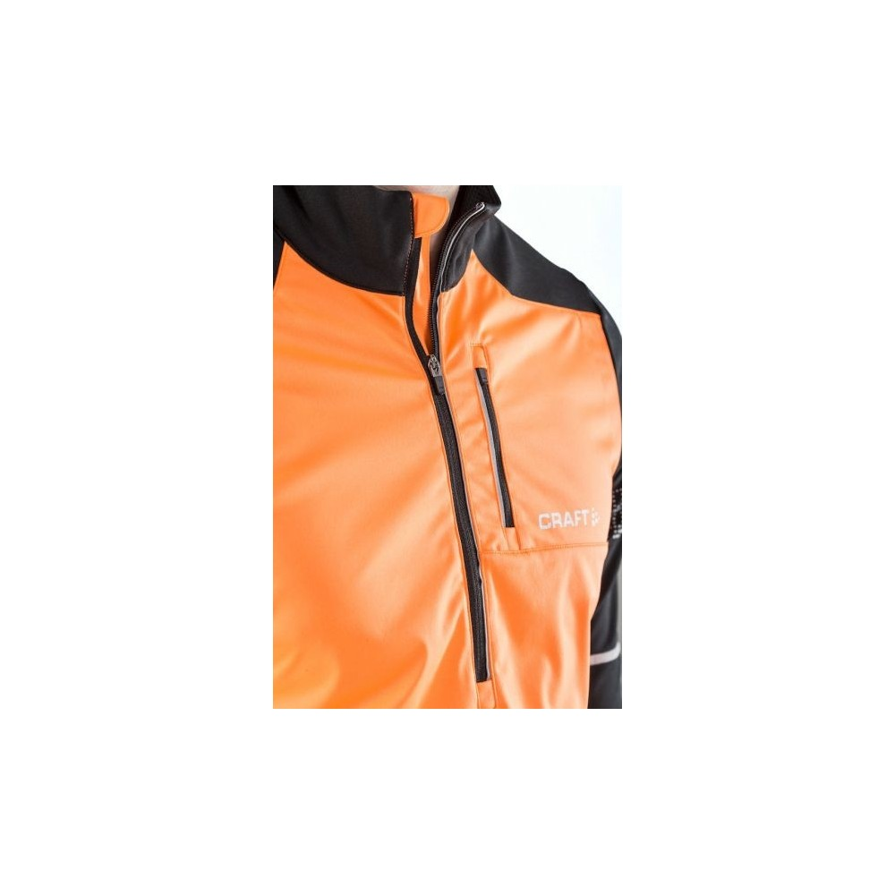 CRAFT  Maillot Thermal Coupe vent Orange