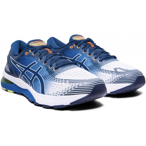 ASICS Nimbus 21 White/Lake
