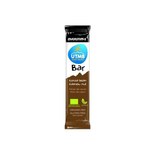 OVERSTIM'S bar UTMB cocoa bean