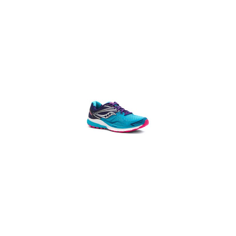 SAUCONY Ride 9 Navy Blue Pink