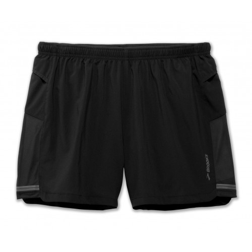 "BROOKS Short Sherpa 5"" Noir"