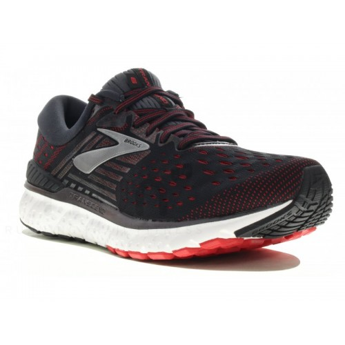 BROOKS Transcend 6 noir rouge