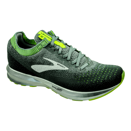 BROOKS Levitate 2 Gris/Jaune/Noir