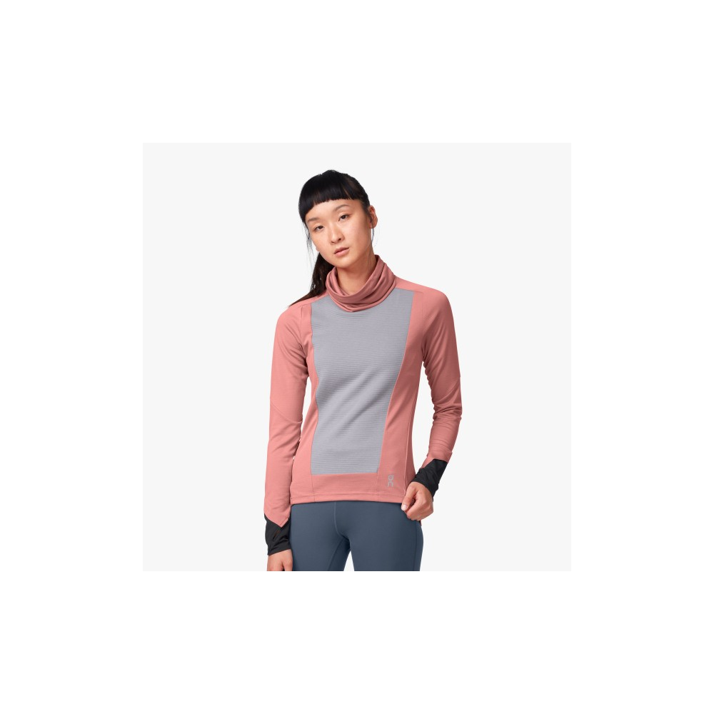 On Weather Shirt W Dustrose/Fossil