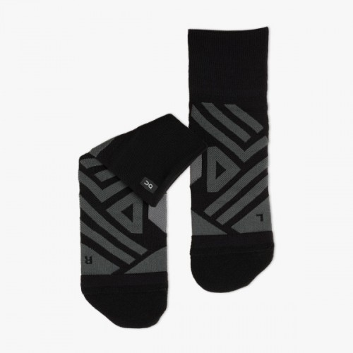ON Mid Sock W Black/Shadow