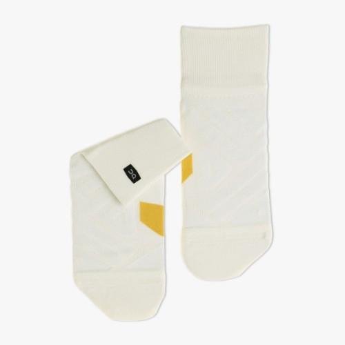 On Mid Sock W White/Ice
