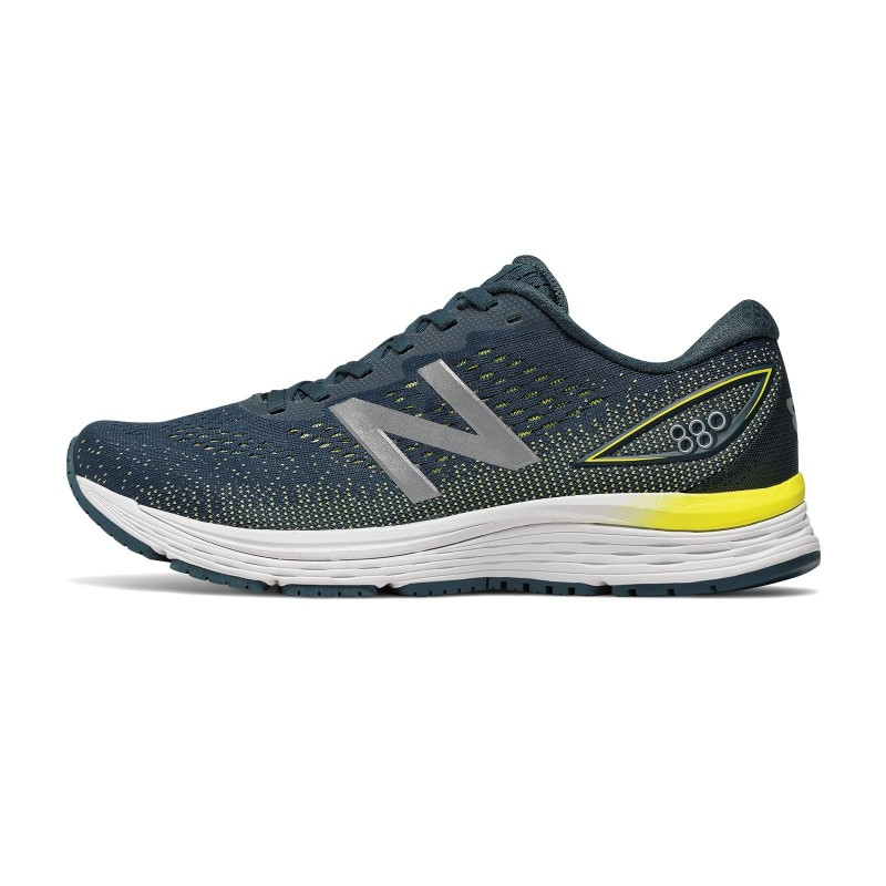 new balance running bleu
