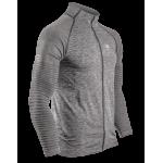 COMPRESSPORT Veste Zip Sweatshirt gris foncé