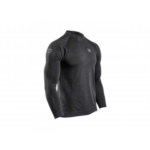 COMPRESSPORT Training T Shirt Manche Longue Noir