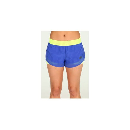 NEW BALANCE Short Bleu jaune