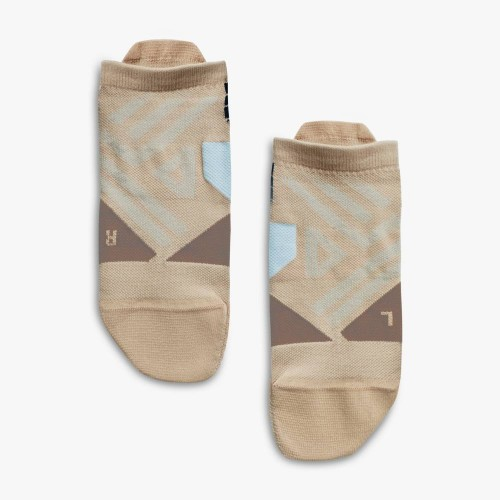 ON Low Sock Rosebrown/Grey W