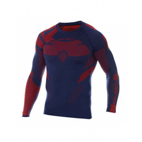 BRUBECK  Sweat-Shirt  manche longue DRY Caviar