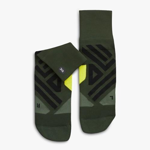 ON Mid Sock Jungle Lime
