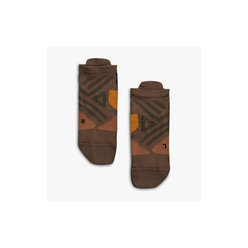 ON Low Sock Cocoa/Black