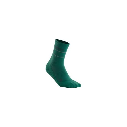 CEP Reflective Compression Mid Cut Socks Verte
