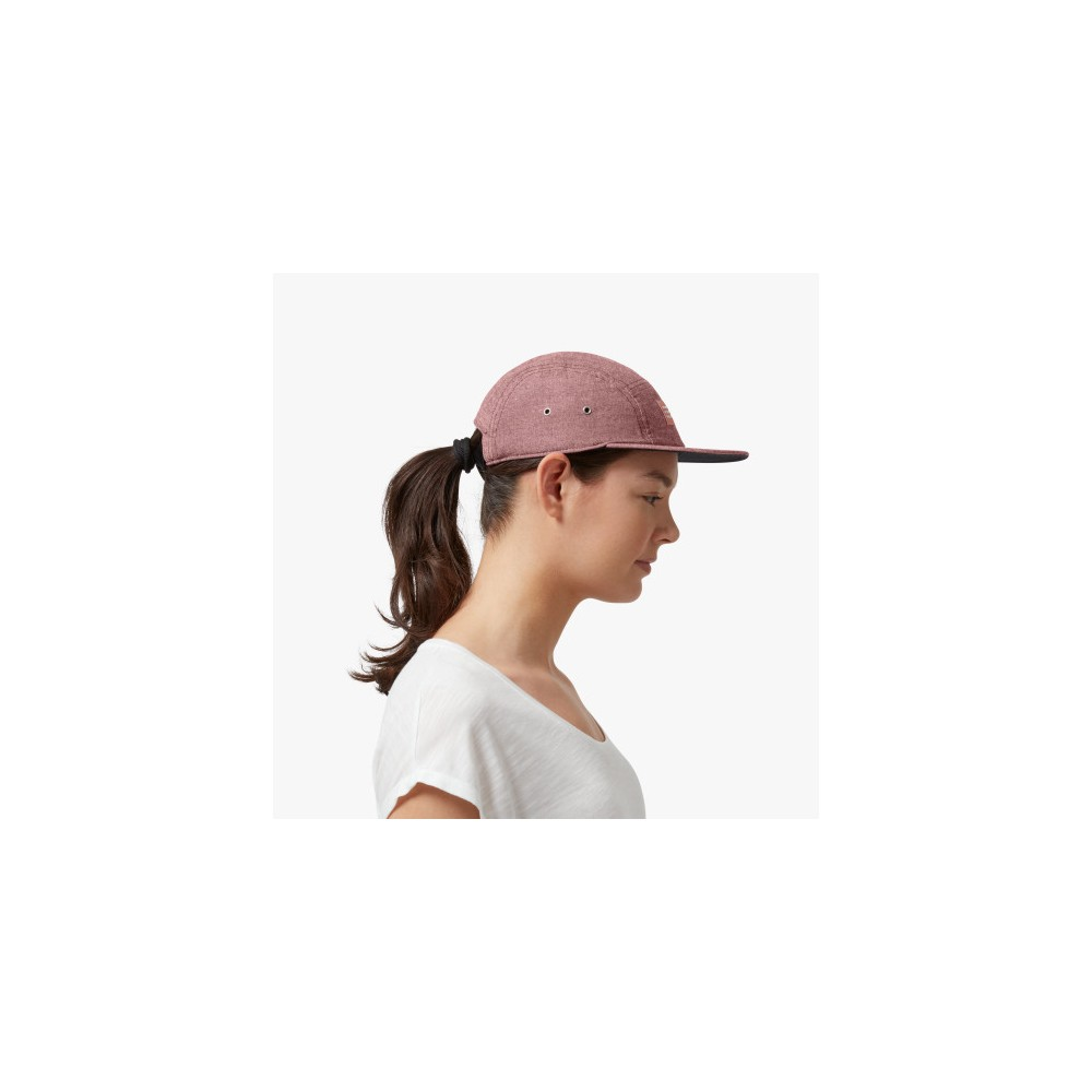 ON 5 Panel Cap Mulberry