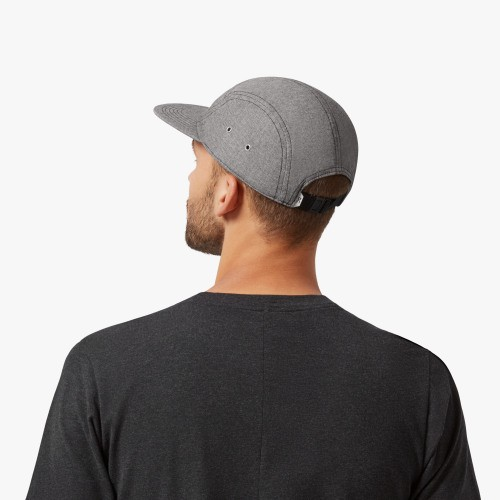 ON 5 Panel Cap Grey