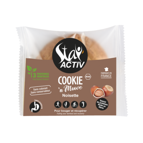 STAY'ACTIV Cookie noisette