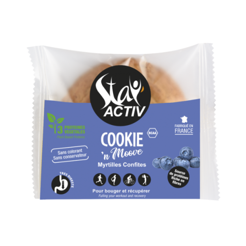 STAY ACTIV Cookie Myrtille