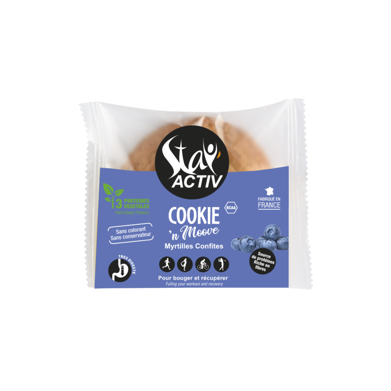 STAY'ACTIV Cookie Myrtille