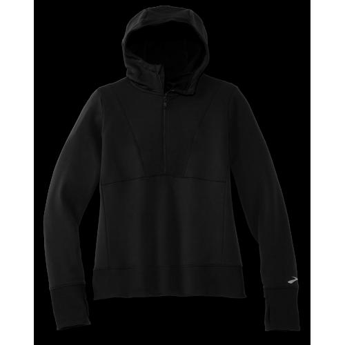 BROOKS Notch Thermal Hoodie W Black