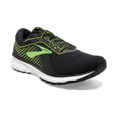 BROOKS Ghost 12 Noir/Jaune/Blanc