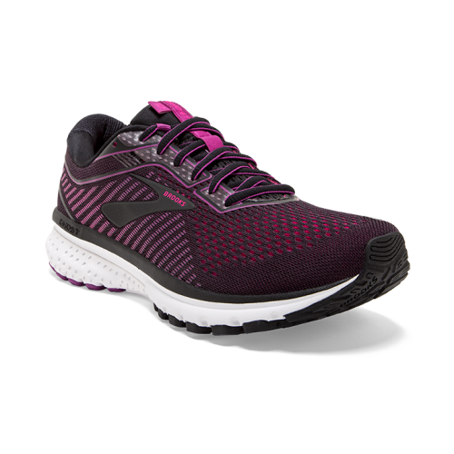 BROOKS Ghost 12 W Black Hollyhock Pink