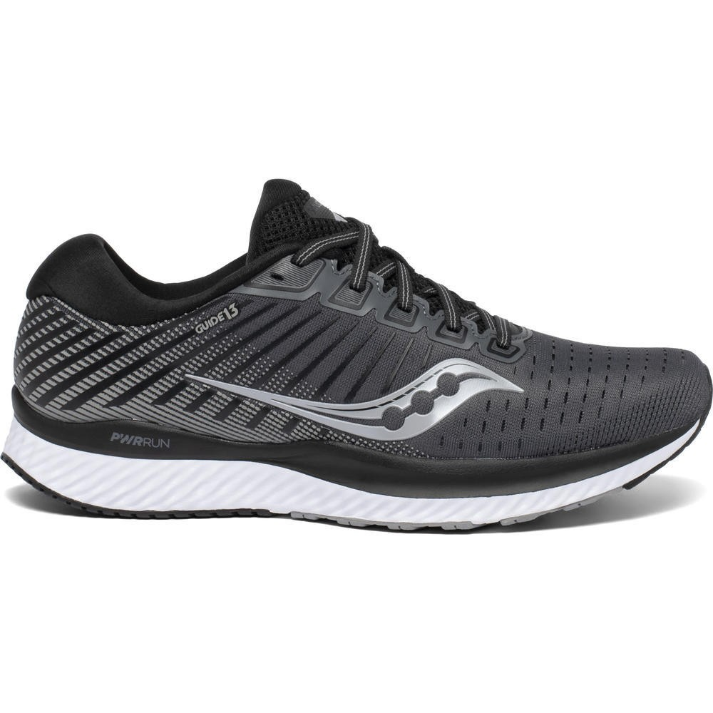 SAUCONY Guide 13 Black/White
