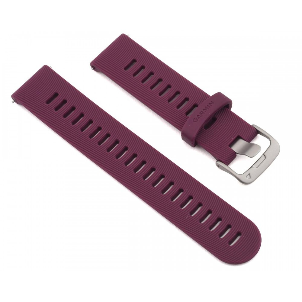 GARMIN Bracelets Quick Release 20 Watch Band Berry Silicone