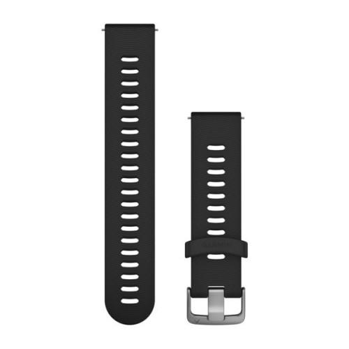 GARMIN Bracelet Montre Quick Release 20 Black Silicon